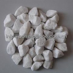 white gravel 10-20mm