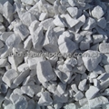 white gravel for garden