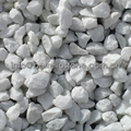 decoration white stone chips