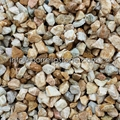 yellow stone gravel