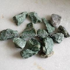 green stone gravel