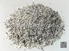 sesame white granite sand