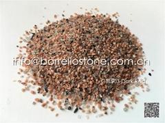 natural color granite sand