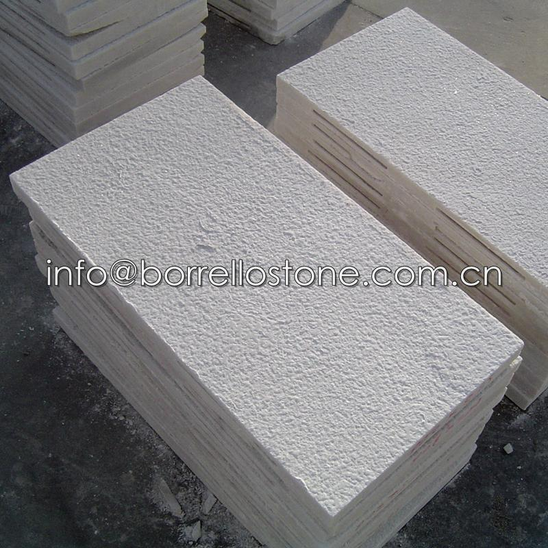 Marble Wall Cladding Services : White marble wall cladding borrello stone