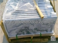 grey marble pool edge