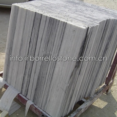strip grey marble tile