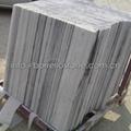 strip grey marble wall cladding