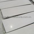 white marble step stair