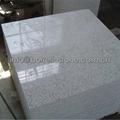 polished white granite tile