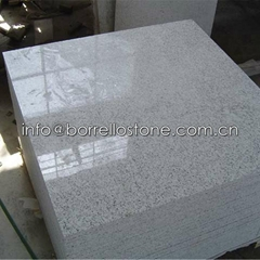 polished white granite t