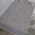 flamed white granite paver