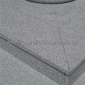 G365 sesame white granite staircase