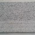 white granite step stair 1