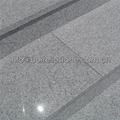 white granite staircase