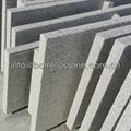 white granite staircase