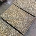 yellow rusty granite stone