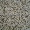 yellow granite stair tread and riser