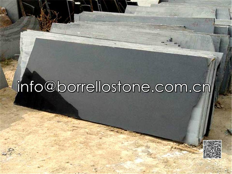 polished black granite tile 4