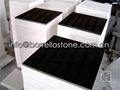 polished black granite tile 5