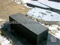 black granite capstone