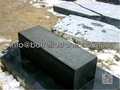 black granite kerbstone