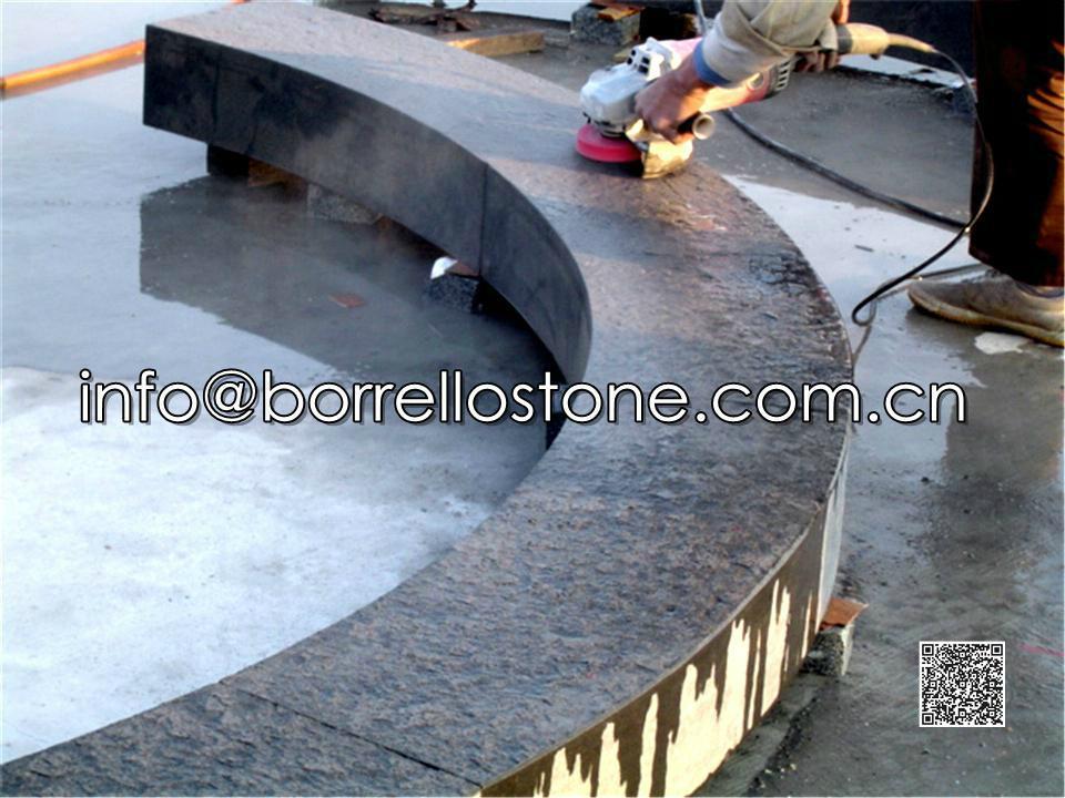 black granite block steps 2