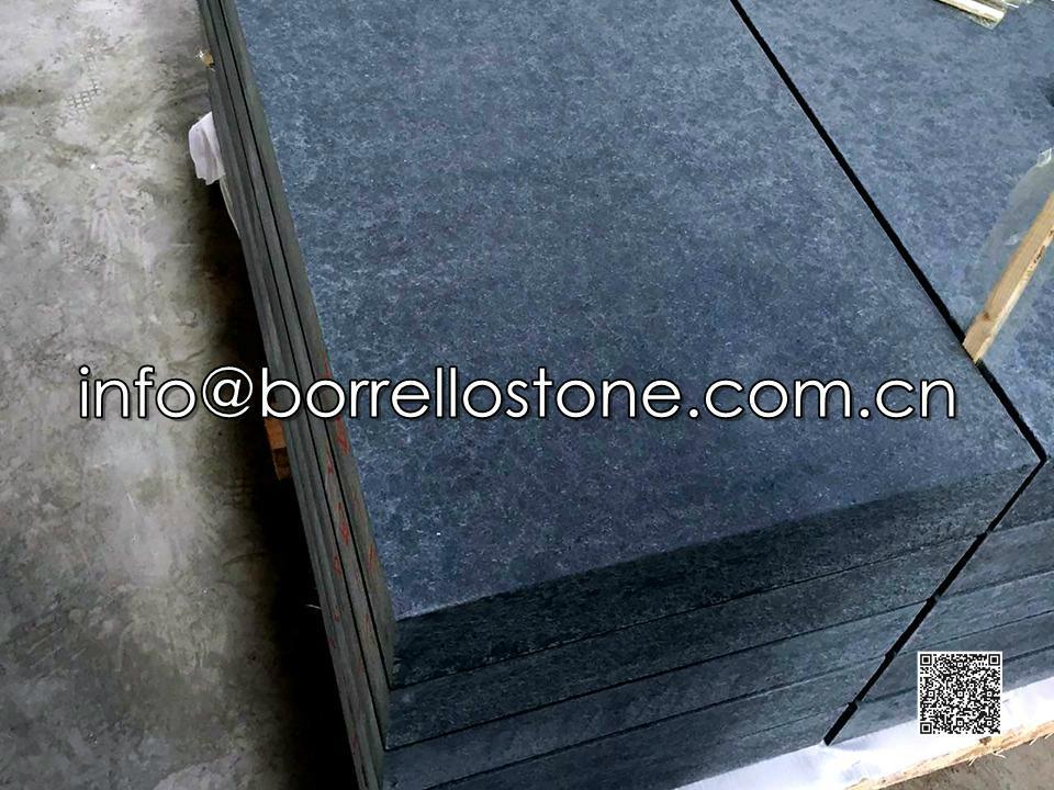 black granite block steps 5