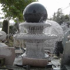 granite rotating fountain