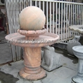marble stone sphere fountain