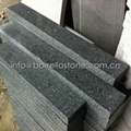 dark grey granite stone