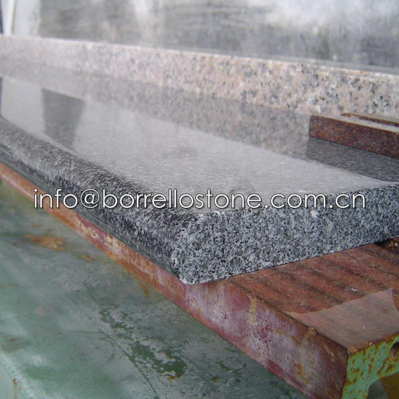 Polished sesame black granite tiles 2