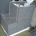 Polished sesame black granite tiles