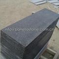 flamed sesame black granite tile 4