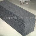 sesame black granite pool edge