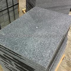 sesame black granite wall cladding