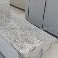 grey granite stair tread and riser