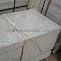 G383 flamed granite paver