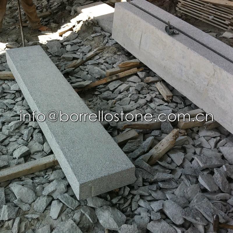 G341 granite block steps 4