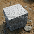G341 grey granite cube