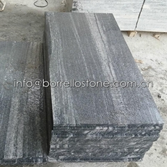 Nero Santiago Granite Steps