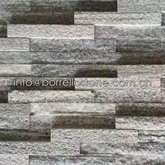 Nero Santiago Granite Stacked Veneer
