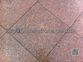 flamed red granite paver