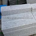 grey granite stone fence