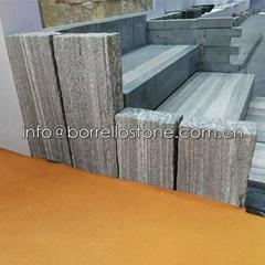 Nero Santiago Granite fence