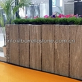 Nero Santiago Granite fence