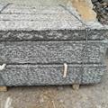 Nero Santiago Granite stone palisade