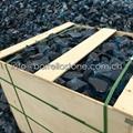 blue glass rocks for art