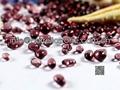 transparent glass beads