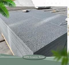 dark grey granite floor tiles