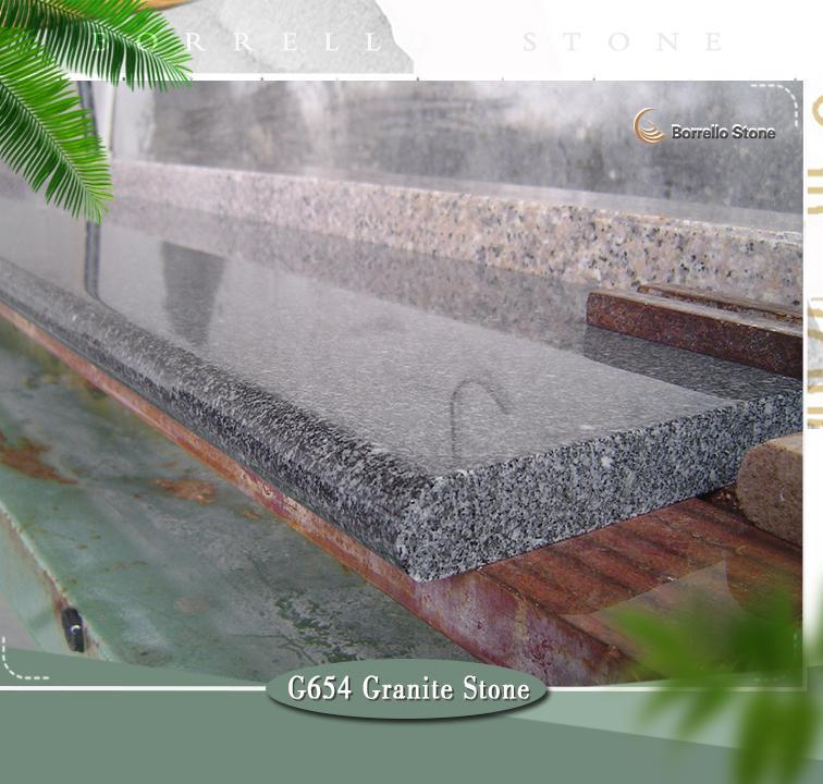 g654 granite step stairs 1